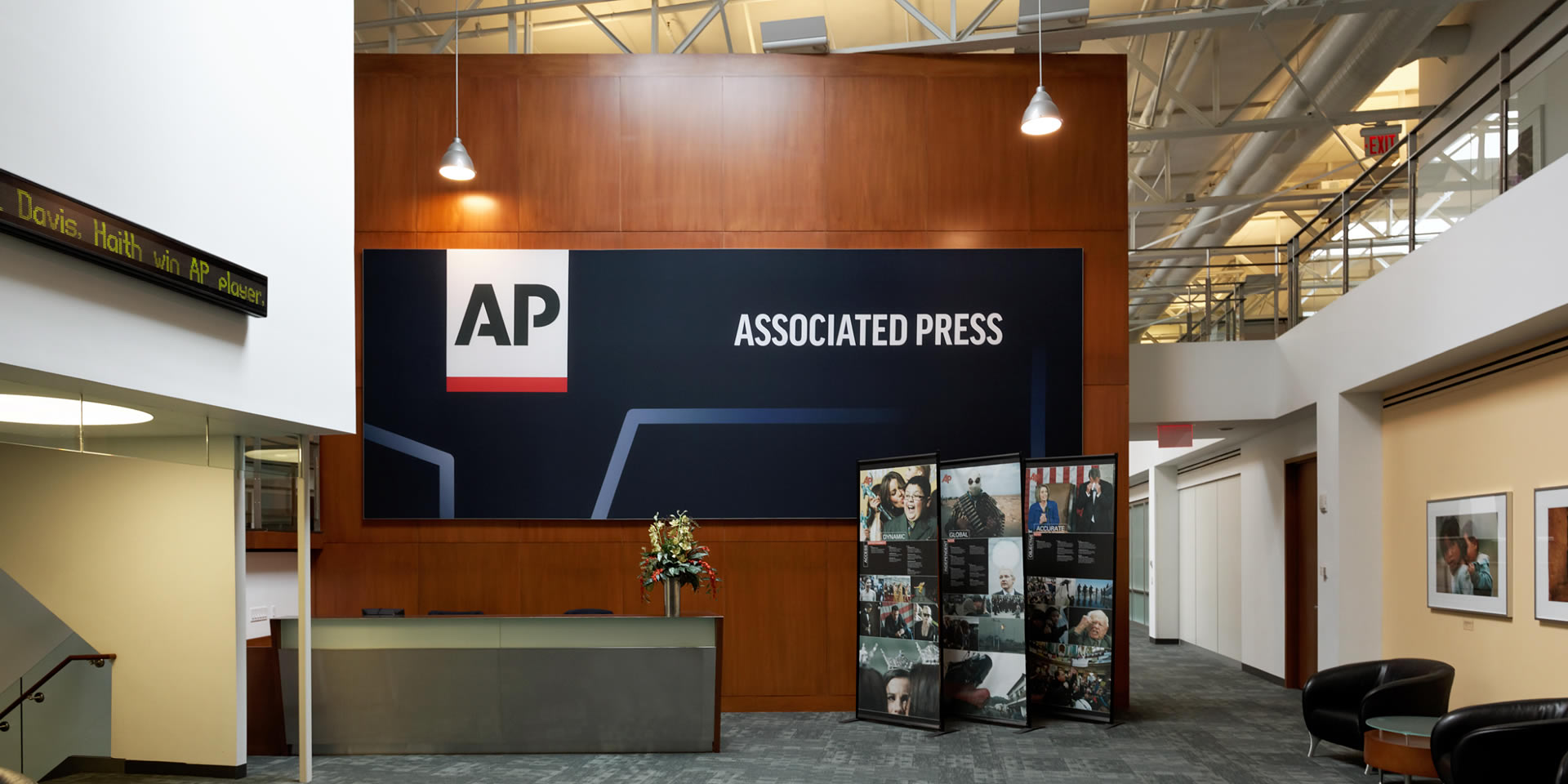 ap associated press sign